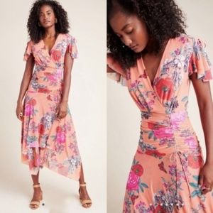 Simone Floral Midi Dress